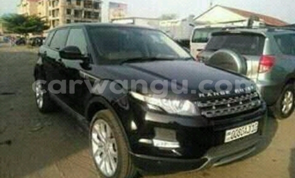 acheter voiture land rover range rover evoque noir gombe. Black Bedroom Furniture Sets. Home Design Ideas