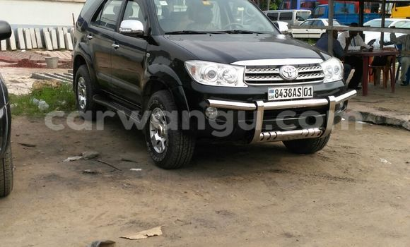 Acheter Voiture Toyota Fortuner Noir à Kalamu en Kinshasa