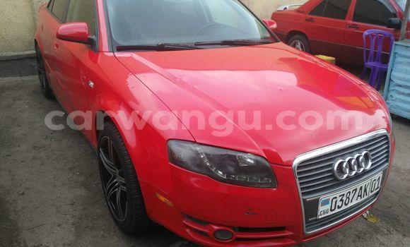 Acheter Voiture Audi A4 Rouge en Bandalungwa