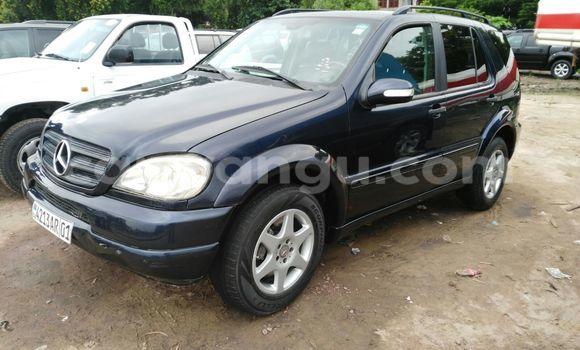 Buy Mercedes Benz ML-Class Blue Car in Kalamu in Kinshasa