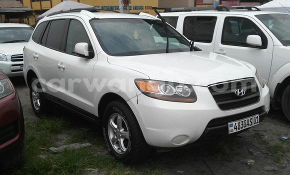 Acheter Voiture Hyundai Santa Fe Blanc à Bandalungwa en Kinshasa