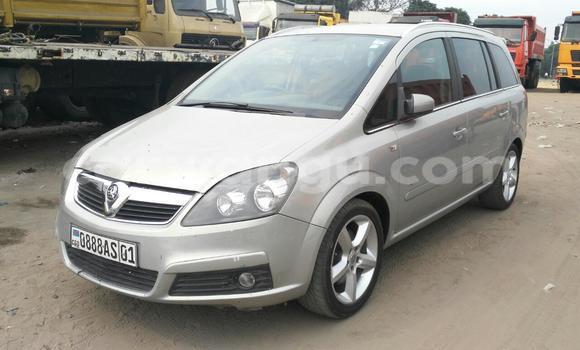 Acheter Voiture Opel Zafira Gris en Kalamu