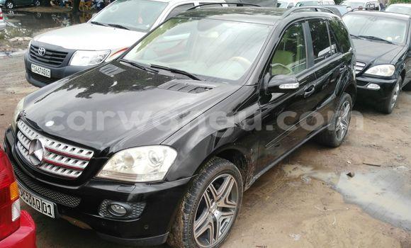Buy Mercedes Benz ML-Class Black Car in Kalamu in Kinshasa