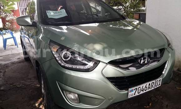 Acheter Voiture Hyundai ix35 Vert à Gombe en Kinshasa
