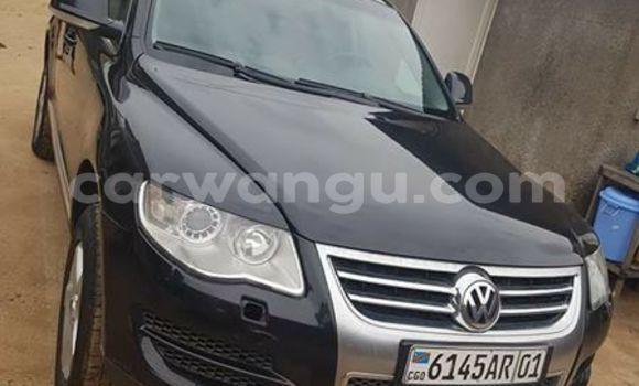 Acheter Voiture Volkswagen Touareg Noir à Bandalungwa en Kinshasa