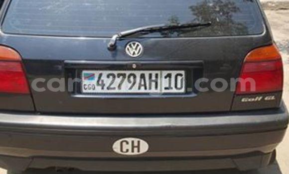 Acheter Voiture Volkswagen Golf Noir à Bandalungwa en Kinshasa