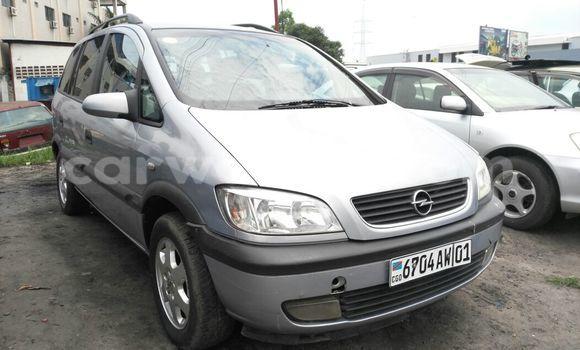 Acheter Voiture Opel Zafira Bleu en Limete