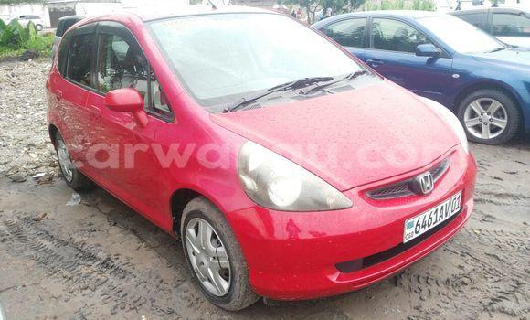 Acheter Voiture Honda Fit Rouge en Limete