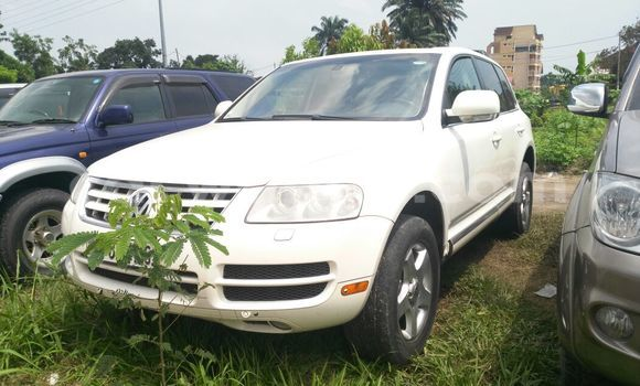 Acheter Voiture Volkswagen Touareg Blanc à Limete en Kinshasa