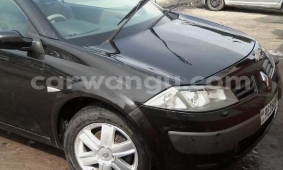 Acheter Voiture Renault Megane Noir à Bandalungwa en Kinshasa