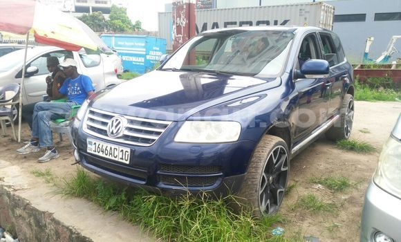 Acheter Voiture Volkswagen Touareg Bleu à Limete en Kinshasa