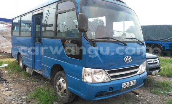 Acheter Voiture Hyundai County Bleu en Kalamu