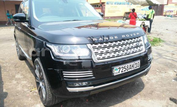 Acheter Voiture Land Rover Range Rover Vogue Noir en Kasa Vubu