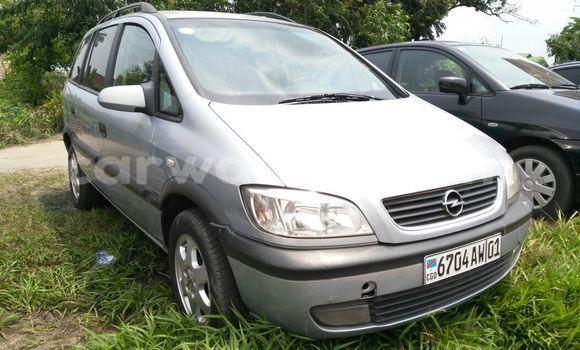 Acheter Voiture Opel Zafira Gris en Limete