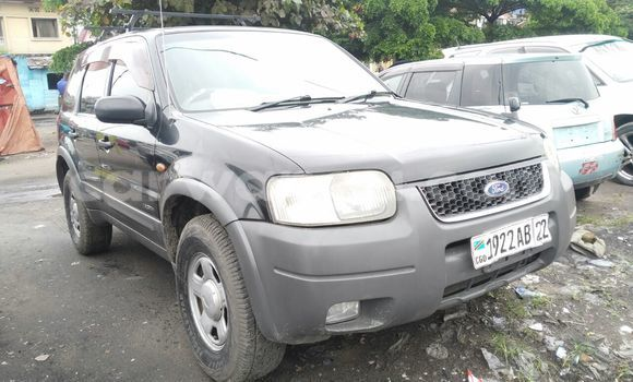 Acheter Voiture Ford Escape Noir en Lemba