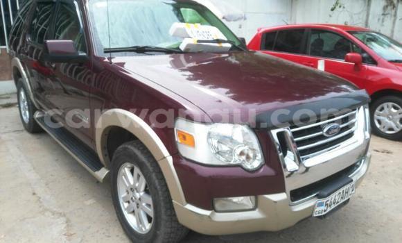 Acheter Voiture Ford Explorer Rouge en Gombe