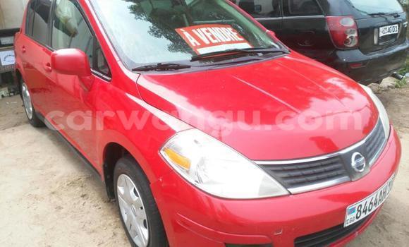 Acheter Voiture Nissan Tiida Rouge en Gombe