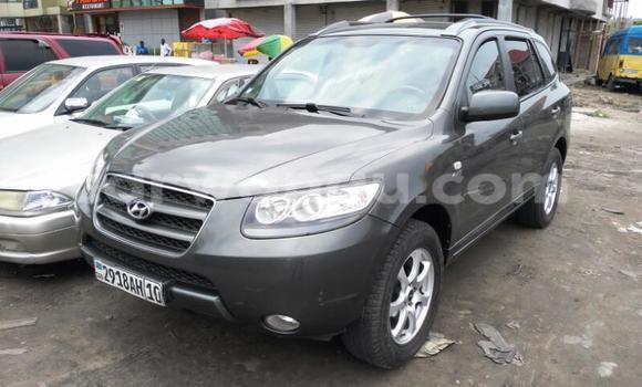 Acheter Voiture Hyundai Santa Fe Gris en Kinshasa