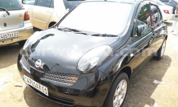 Acheter Voiture Nissan March Noir en Kalamu