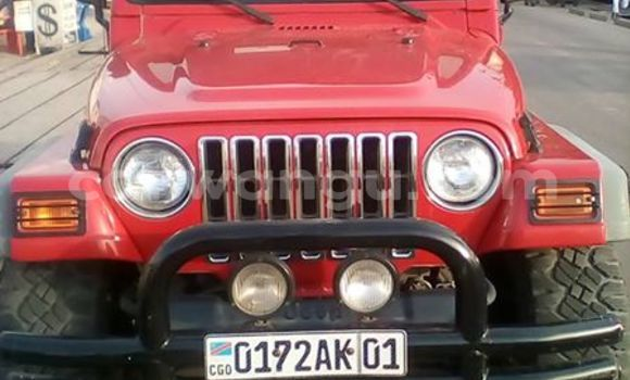 Acheter Voiture Jeep Wrangler Rouge en Bandalungwa