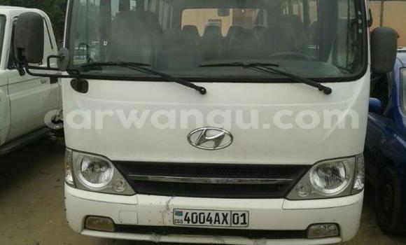 Acheter Voiture Hyundai County Blanc à Limete en Kinshasa