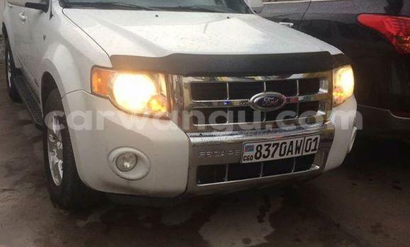 Acheter Voiture Ford Escape Blanc à Bandalungwa en Kinshasa