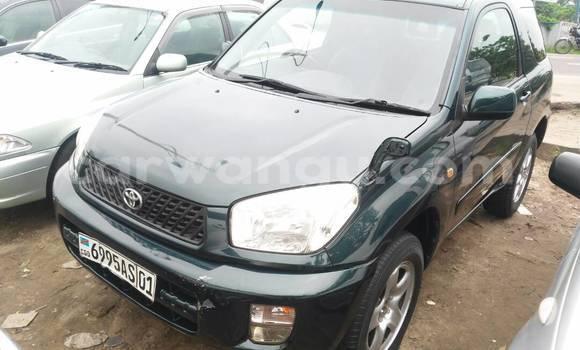 Acheter Voiture Toyota RAV4 Vert en Kalamu