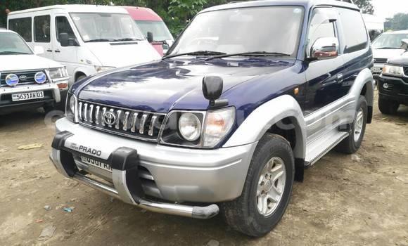 Acheter Voiture Toyota Prado Bleu en Kalamu