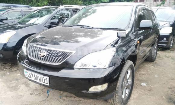 Acheter Voiture Toyota Harrier Noir en Kalamu