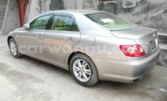 Acheter Voiture Toyota Mark X Gris en Kalamu