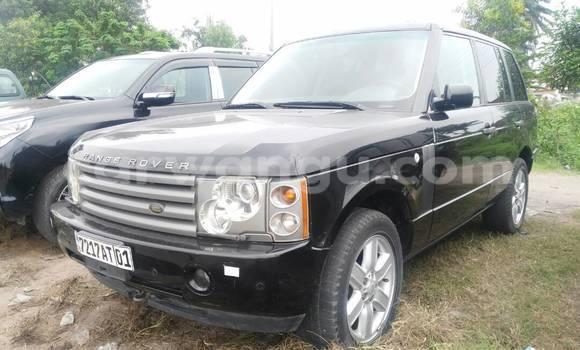 Acheter Voiture Land Rover Range Rover Noir en Limete