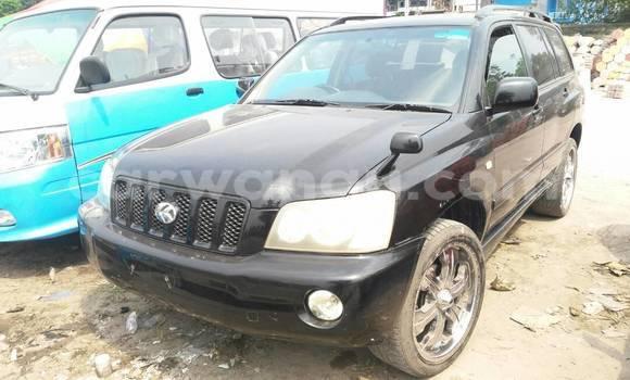 Acheter Voiture Toyota Kluger V Noir en Lemba