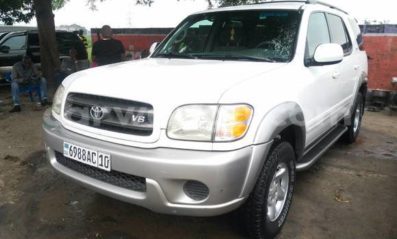 Acheter Voiture Toyota Sequoia Blanc en Kalamu