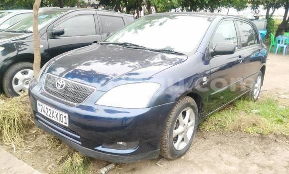 Acheter Voiture Toyota Corolla Bleu en Limete