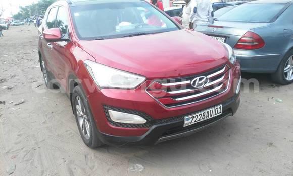 Acheter Voiture Hyundai Santa Fe Rouge à Kasa Vubu en Kinshasa