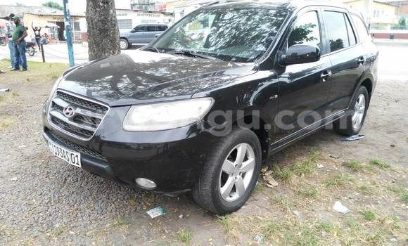 Acheter Voiture Hyundai Santa Fe Noir à Bandalungwa en Kinshasa