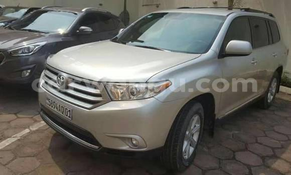 Acheter Voiture Toyota Highlander Gris à Kinshasa en Kinshasa