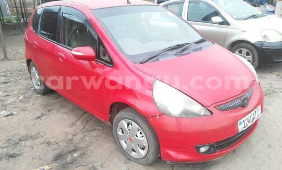 Acheter Voiture Honda Fit Rouge à Ngaliema en Kinshasa