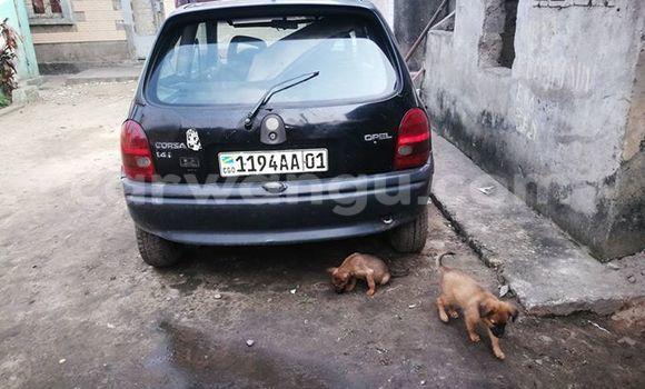 Acheter Voiture Opel Corsa Noir à Bandalungwa en Kinshasa