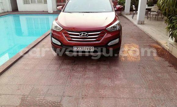 Acheter Voiture Hyundai Santa Fe Rouge à Bandalungwa en Kinshasa