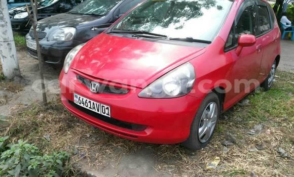Acheter Voiture Honda Fit Rouge à Limete en Kinshasa