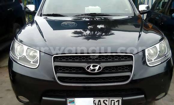 Acheter Voiture Hyundai Santa Fe Noir à Gombe en Kinshasa