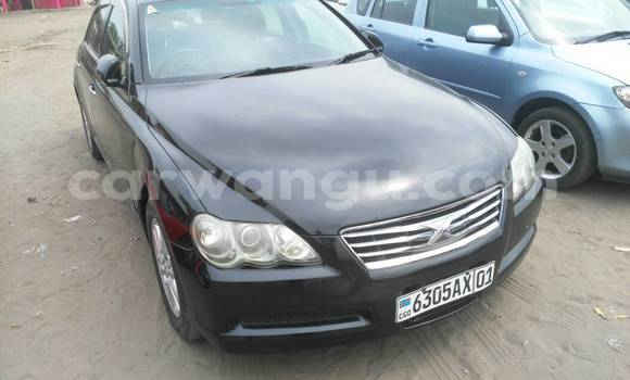 Acheter Voiture Toyota Mark X Noir à Kalamu en Kinshasa