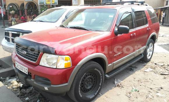 Acheter Voiture Ford Explorer Rouge à Lemba en Kinshasa