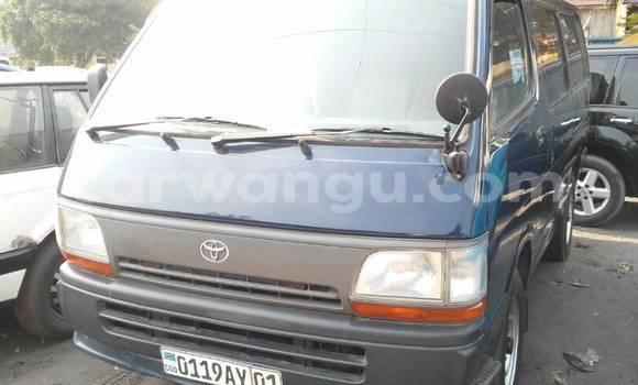 Acheter Voiture Toyota Hiace Bleu à Lemba en Kinshasa