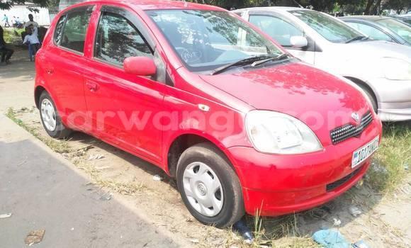 Acheter Voiture Toyota Vitz Rouge à Limete en Kinshasa