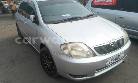 Acheter Voiture Toyota Allex Gris à Kintambo en Kinshasa