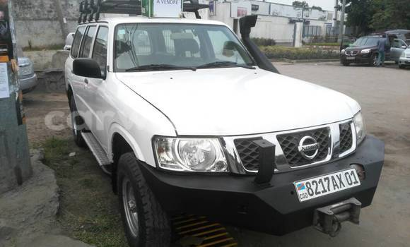 Acheter Voiture Nissan Patrol Blanc à Gombe en Kinshasa