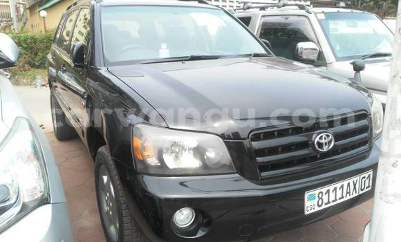 Acheter Voiture Toyota Highlander Noir à Gombe en Kinshasa