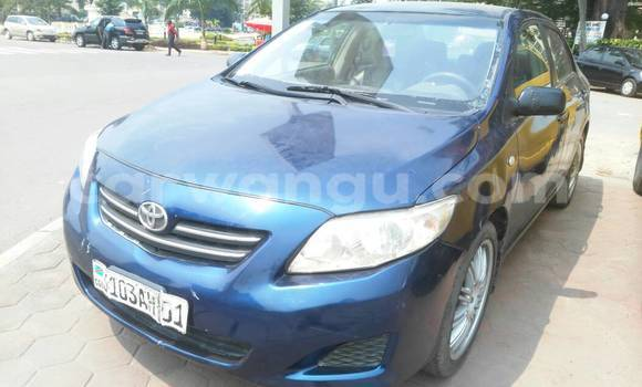 Acheter Voiture Toyota Corolla Bleu à Gombe en Kinshasa